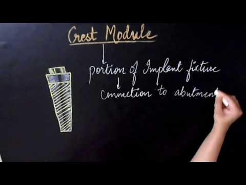 CREST MODULE DESIGN/ DENTAL IMPLANTS