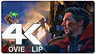 All Doctor Strange Scenes from Infinity War & Endgame in 4K 60FPS | By Az Gamer |