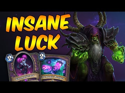 Good Plays And Insane Luck With Control Warlock!