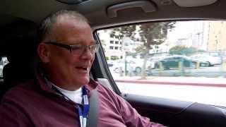 Electric BMW i3 Test Drive at 2013 LA Auto Show