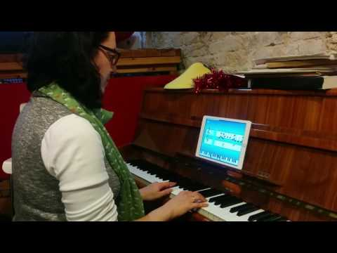 Playing the Can Can with Simply Piano by JoyTunes - YouTube