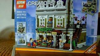 Lepin 15010 ' Parisian Restaurant ' - Similar to Lego 10243