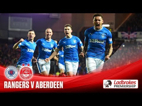 Rampant Rangers romp to victory over Aberdeen