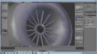 How to model a low poly wheel in Blender - Short version