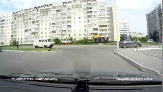 г Курган,Проспект им Голикова  авария