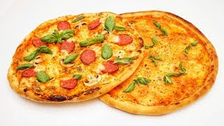 Самая вкусная пицца ★ Пицца на тонком тесте ★ Тесто для пиццы