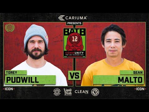 BATB 12: Torey Pudwill Vs. Sean Malto - Round 1
