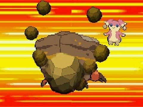 Pokemon Attack Showcase: Rock Attacks - YouTube