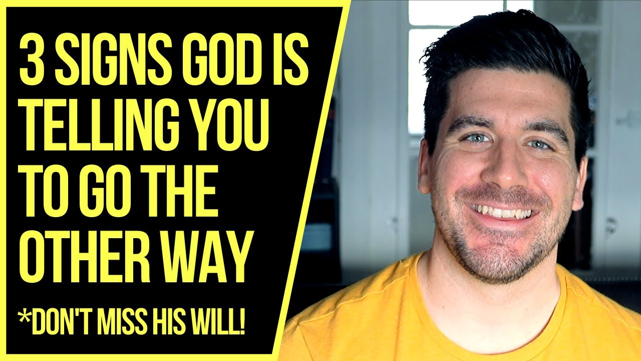 God Is Telling You to Take a NEW Path If . . .
