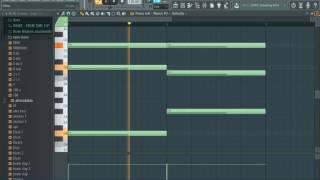 Drake Hype insrumental remake (FL Studio)