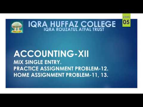 xii-accounting-single-entry-lecture-05