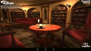PowerVR Rogue GPUs running early Vulkan demo (experimental drivers) thumbnail