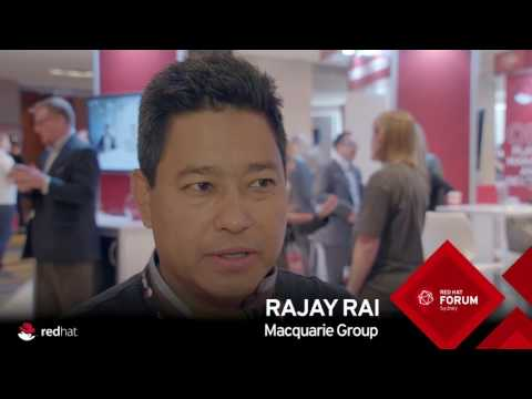 Red Hat Forum Sydney 2016 Highlights