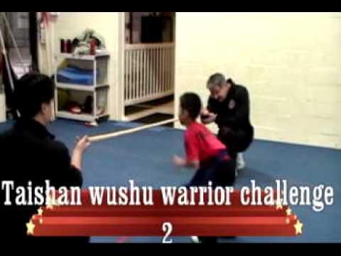 Taishan wushu warrior challenge 2