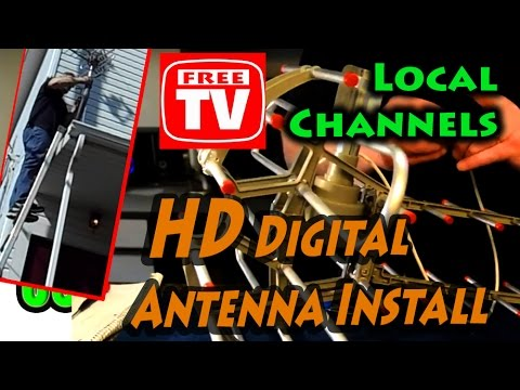 What is the Best Placement for an HD Digital Television Ante