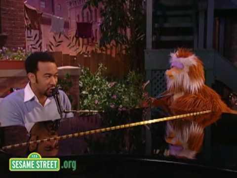 Sesame Street: John Legend and Hoots