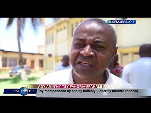 VAOVAO DU 14 DECEMBRE 2019 BY TV PLUS MADAGASCAR