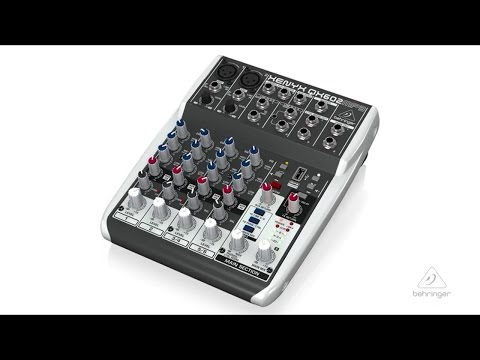 XENYX QX602MP3 Mixer with MP3 Playback