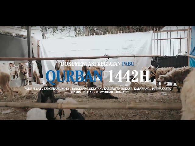 TEBAR QURBAN PABU INDONESIA 1442H KE PELOSOK NEGERI