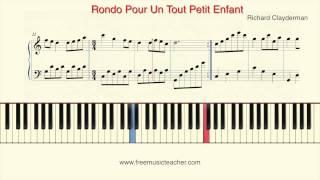 "How To Play Piano: Richard Clayderman ""Rondo Pour Un Tout Petit Enfant"" by Ramin Yousefi"