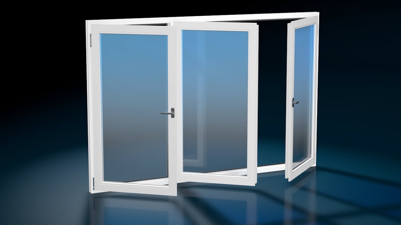 Finestra 3 ante finestre in pvc finestre masterplast for Finestre in pvc