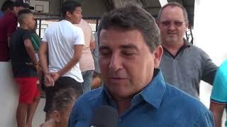 Vereador Bidô inauguração quadra do Tomé
