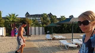 Погода пляж и море в Турции на 3 октября 2020 Аланья Отель MC Arancia Resort