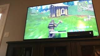 Playing Fortnite Really Bab
