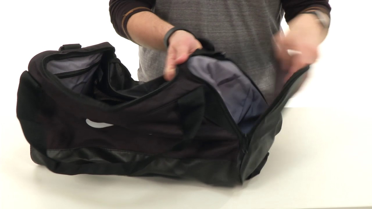 ebdcfb7b1cd1 Nike Brasilia Small Duffel Bag SKU 8800603 - YouTube