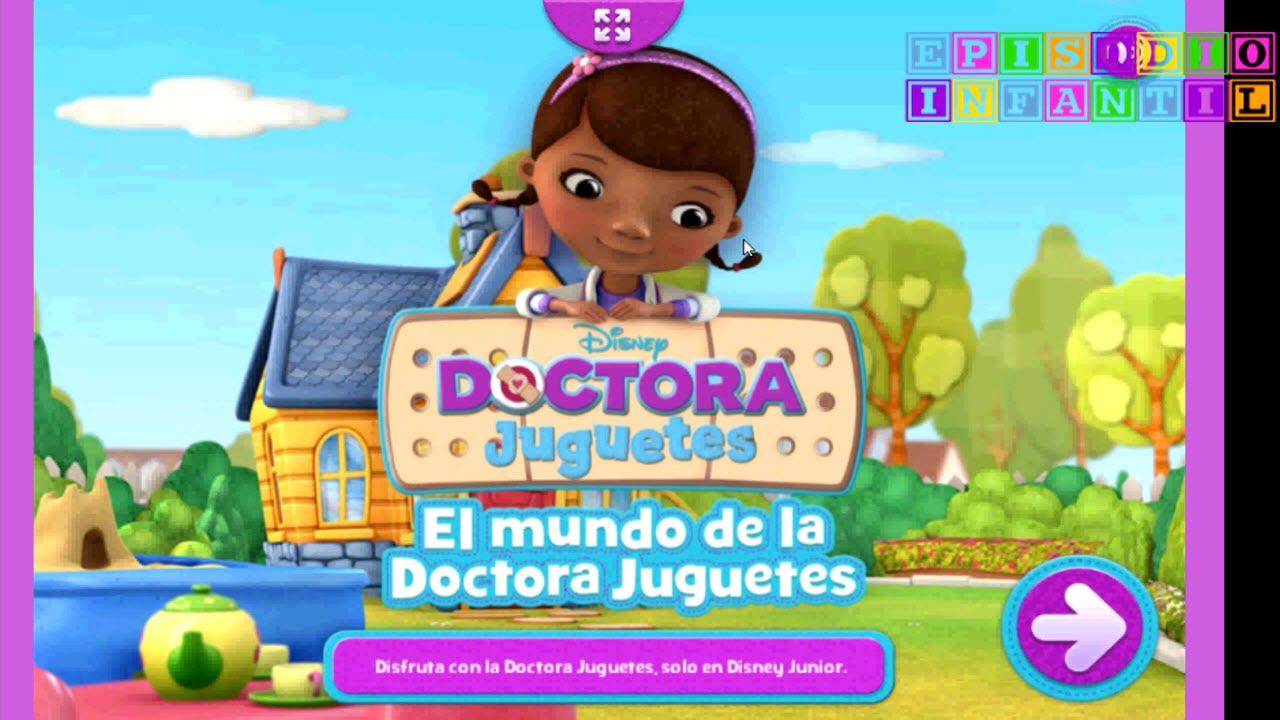 Juego Doctora Juguetes Dr Doc Mcstuffins Consultorio Clinica Youtube