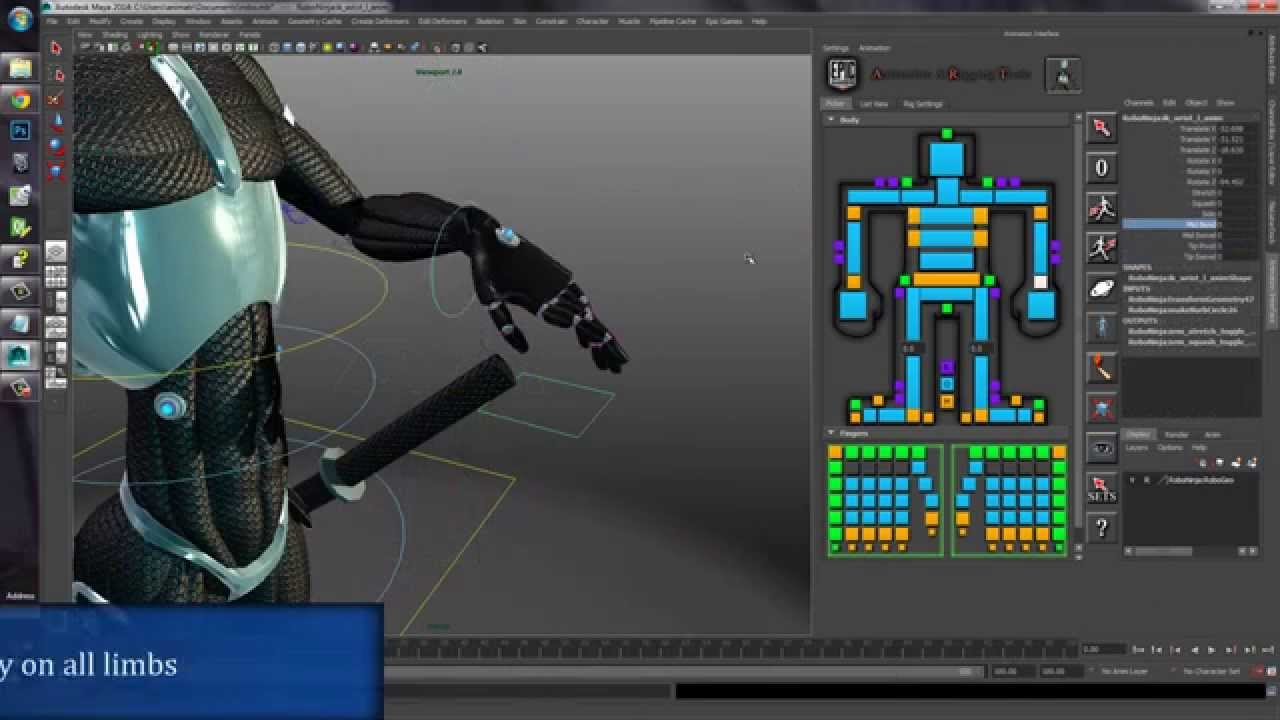 A R T  (Animation and Rigging Toolkit)