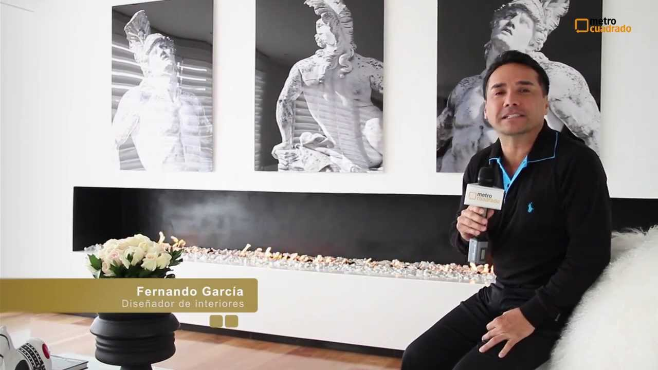 Fernando garc a dise ador de interiores youtube - Disenador de interiores famoso ...
