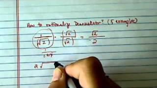rationalize denominator 3 4 7i