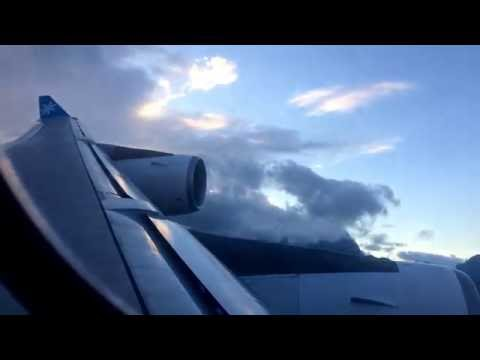 AIR TAHITI NUI 101 UNUSUAL APPROACH LANDING AND TAXI IN TAHITI FAA'A