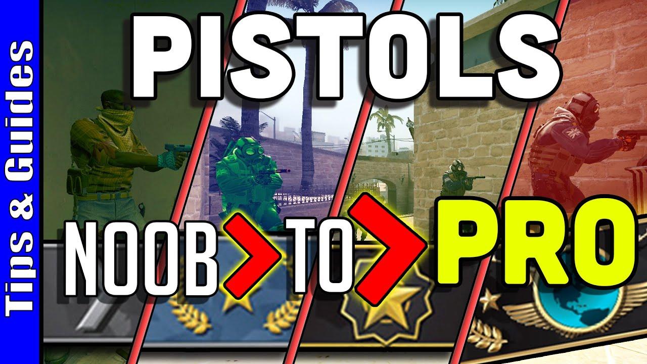 4 Levels of Pistols: Beginner to Pro (ft. voocsgo)