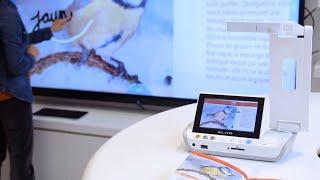 ELMO MA-1 : le visualiseur de poche sans-fil équipé d'un système Android