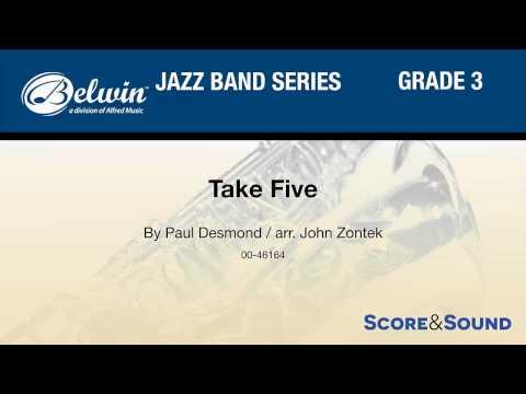 Take Five, arr. John Zontek – Score & Sound