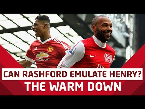 Can Marcus Rashford Emulate Thierry Henry? The Warm Down | Danny Webber
