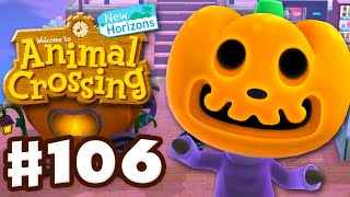 Halloween Trick or Treating! Jack! - Animal Crossing: New Horizons - Gameplay Part 106