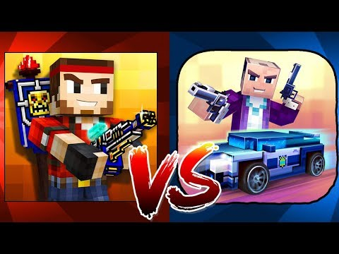 Pixel Gun 3D (13.0.3) Vs. Block City Wars (6.5.5)