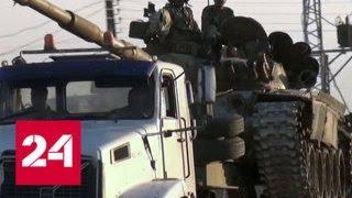 Пентагон отрицает применение фосфорных снарядов в Сирии - Россия 24