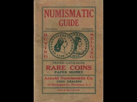 1926 Coin Catalog To Buy and Sell Rare Coins 1804 Dollar and More