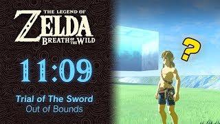 Trial of The Sword (OoB) Speedrun in 11:09 (World Record) - The Legend of Zelda: Breath of the Wild