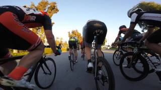 Crit Doc Roger Millikan 2017. Cat 3. Crash with 2 laps to go.