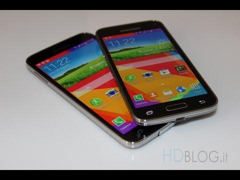 Samsung Galaxy S5 vs Galaxy S5 mini da HDblog
