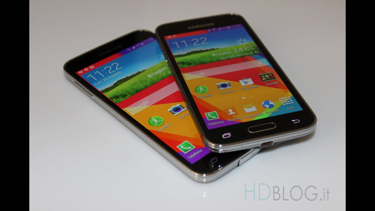 Samsung galaxy s5 vs galaxy s5 mini da hdblog youtube - Samsung dive italia ...