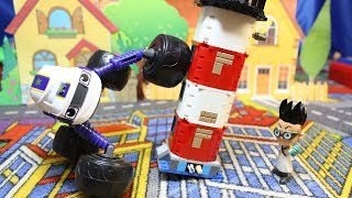 Мультики про машинки для мальчиков. Вспыш и Герои в масках Игрушки из мультфильмов. В мире игрушек.