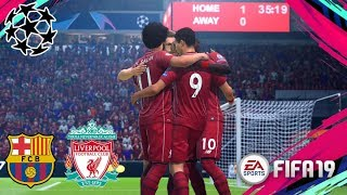 Liverpool vs FC Barcelona - Anfield Champions League