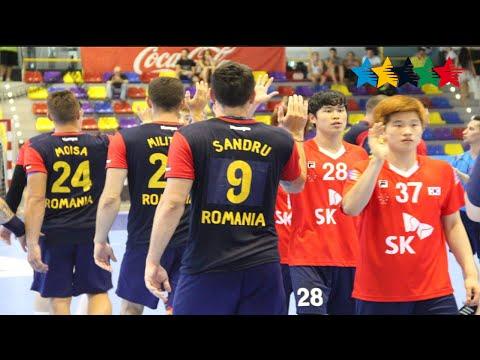 Romania vs  Rep of Korea, Males Final - 23rd World University Handball Championships 2016 - Malaga