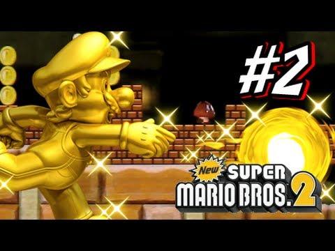 New Super Mario Bros 2 3DS - Part 2 World 2